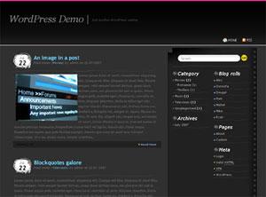 Бесплатная тема для WordPress