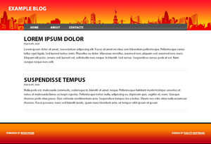 Red City WordPress Theme