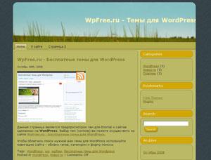 Бесплатно скачать тему WordPress
