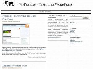 Новости WordPress скачать