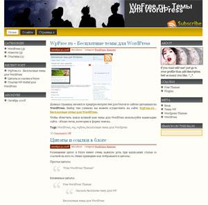 Японская тема WordPress