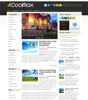 CoolMax - for WordPress