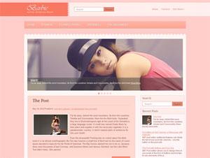 шаблон wordpress для девушек