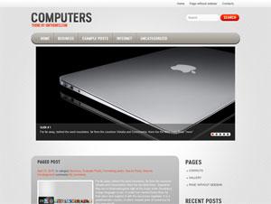 компьютерная тема wordpress