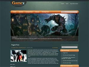 игровая тема wordpress