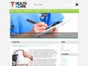 медицинский шаблон wordpress