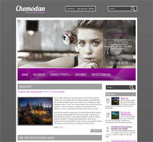fashion тема wordpress
