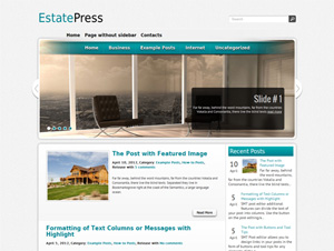real estate тема wordpress