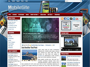 mobile theme wordpress