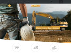 строительная тема wordpress