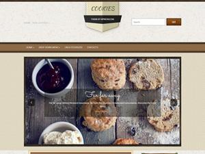 кулинария шаблон wordpress